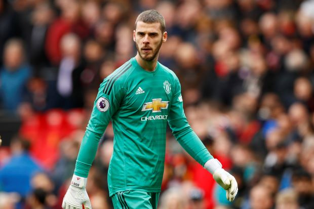 man utd news, de gea