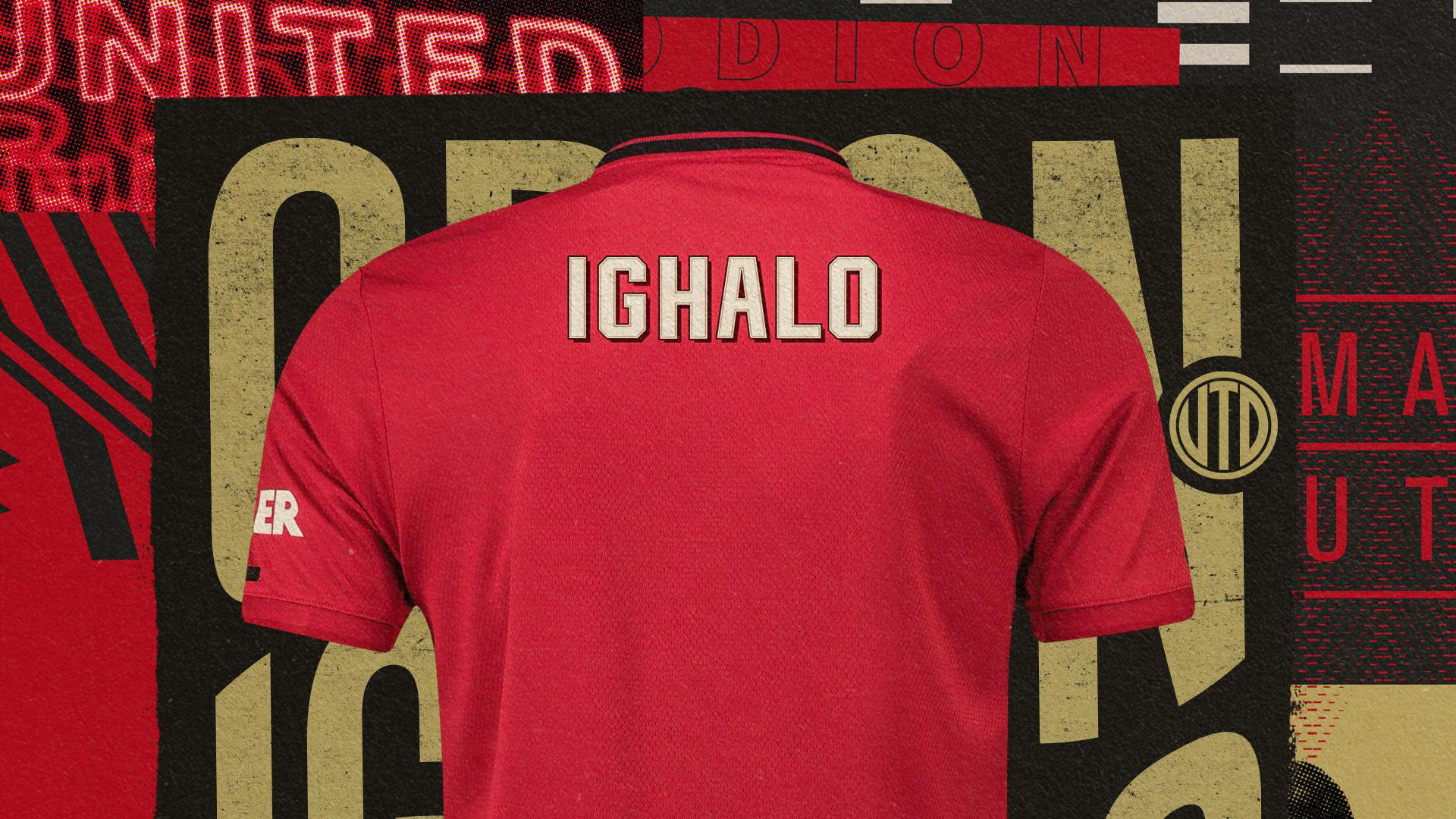 Odion Ighalo shirt number