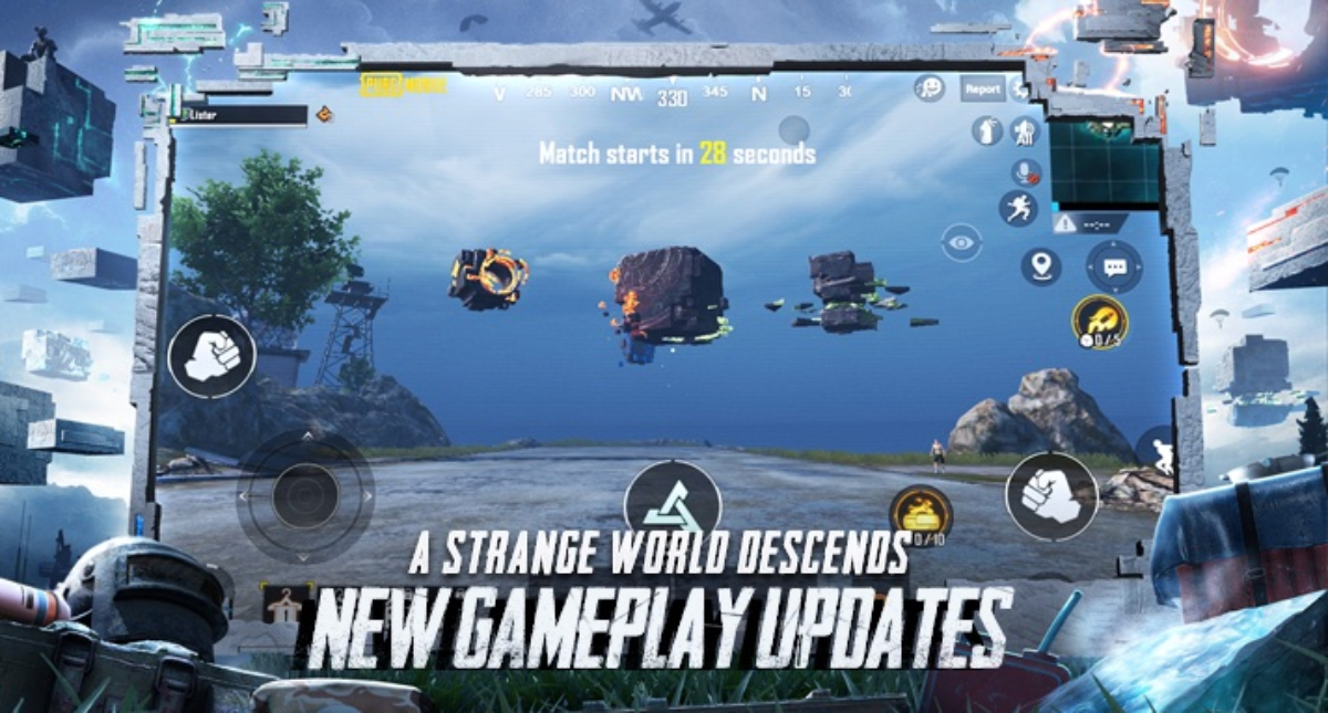 Pubg Mobile 1.2 update Patch Notes- The Runic Power revealed officially