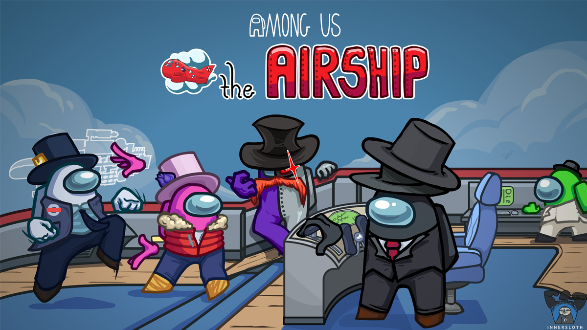 Among Us the airship map