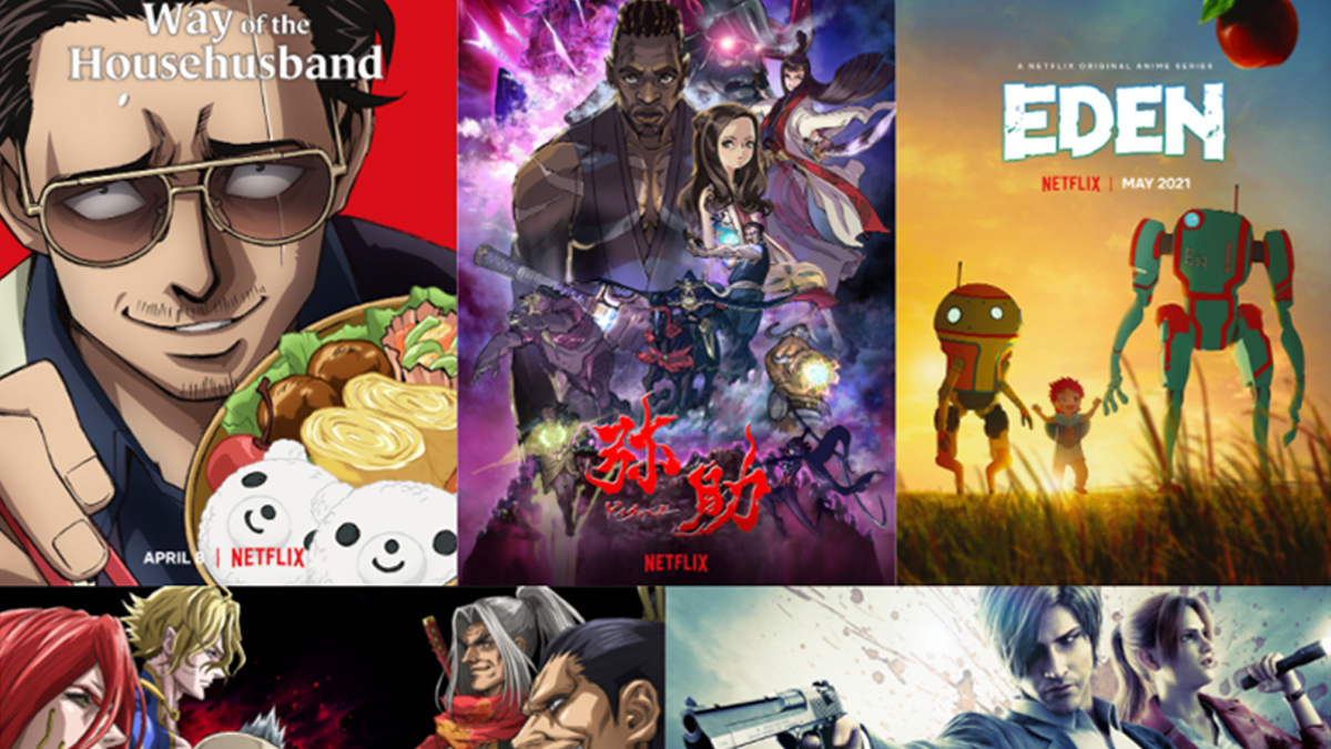 Netflix anime shows